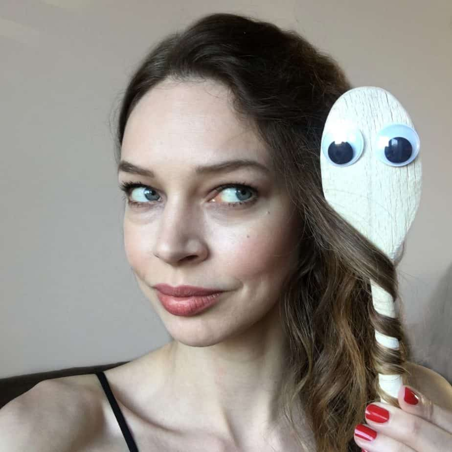 Alternative way of curling hair