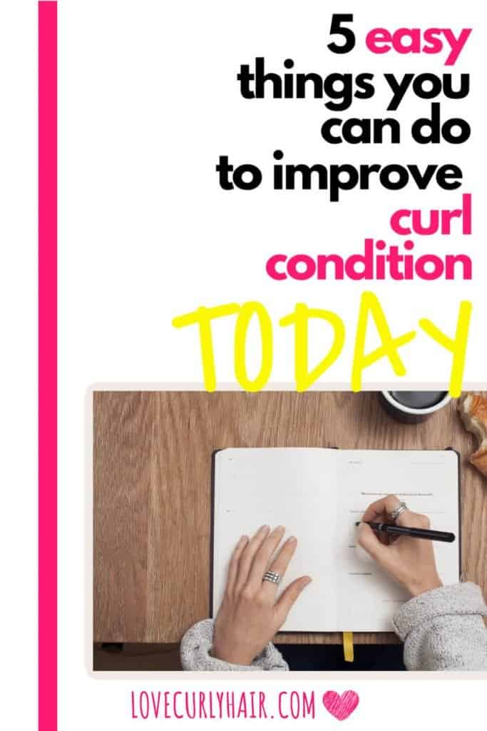 easy ways to improve curl condition