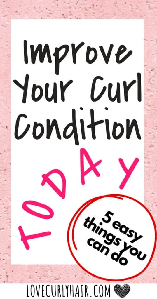 better curly hair in 5 steps