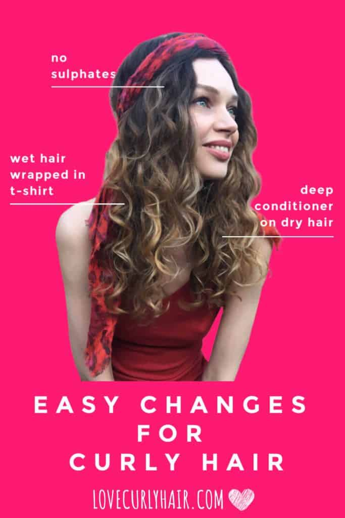 easy changes for beautiful curls