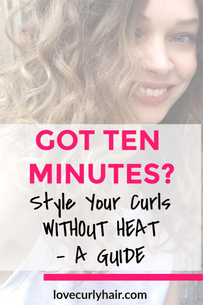 style curls quickly 10 minutes