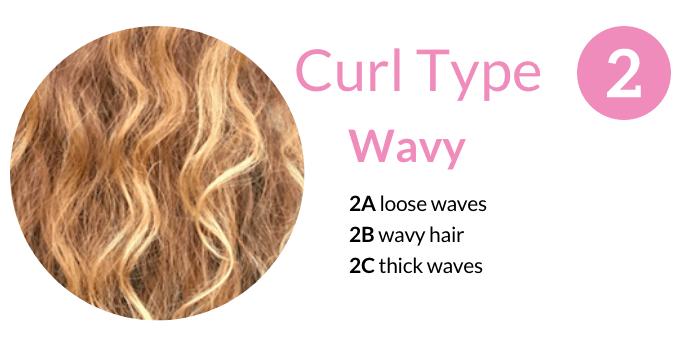 Curl Type 2 Wavy Hair