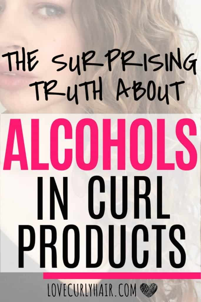 is there good alcohol and bad alcohol for hair?