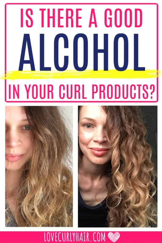 is there alcohol in all hair products?