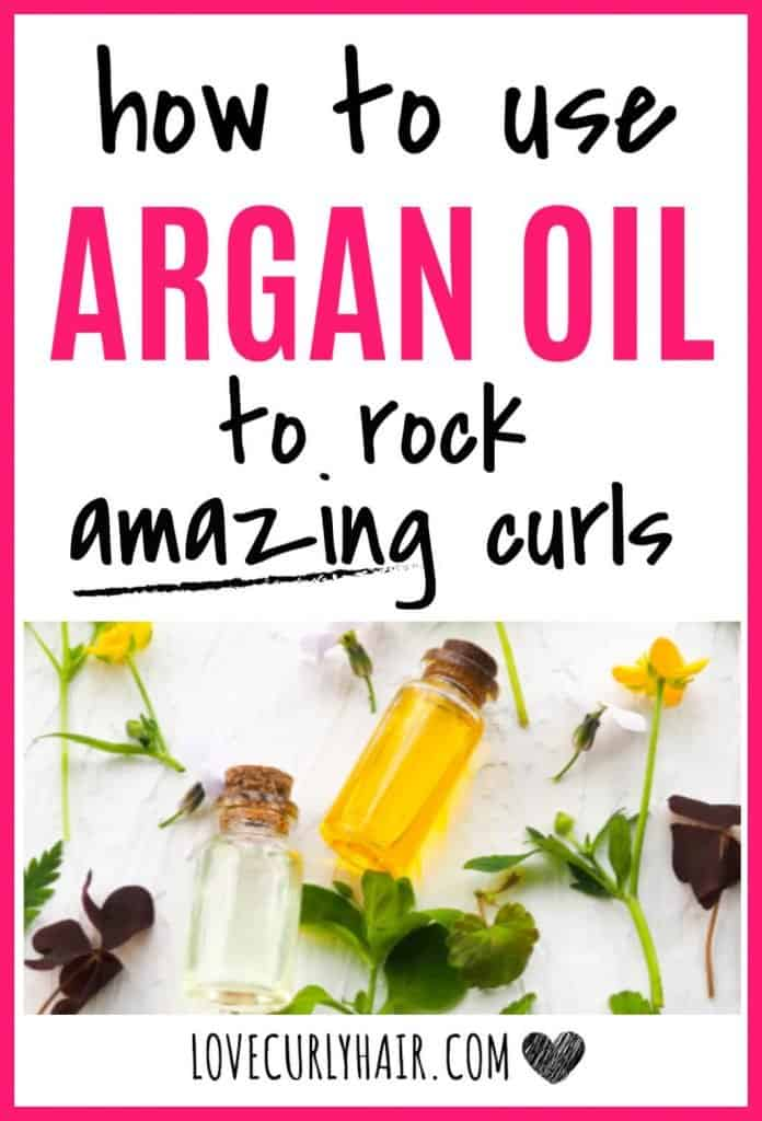 argan oil benefits for curly hair