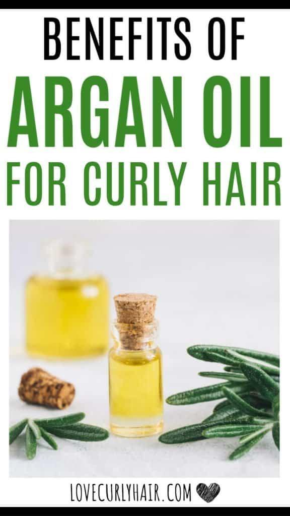 argan oil for curly hair