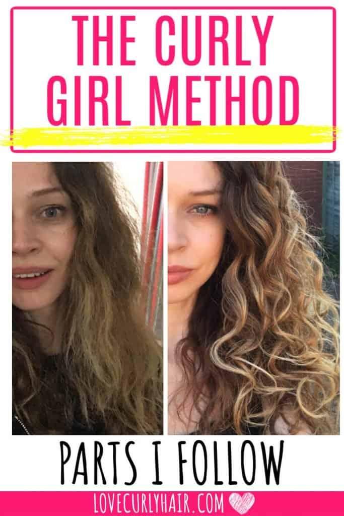 simplified curly girl method