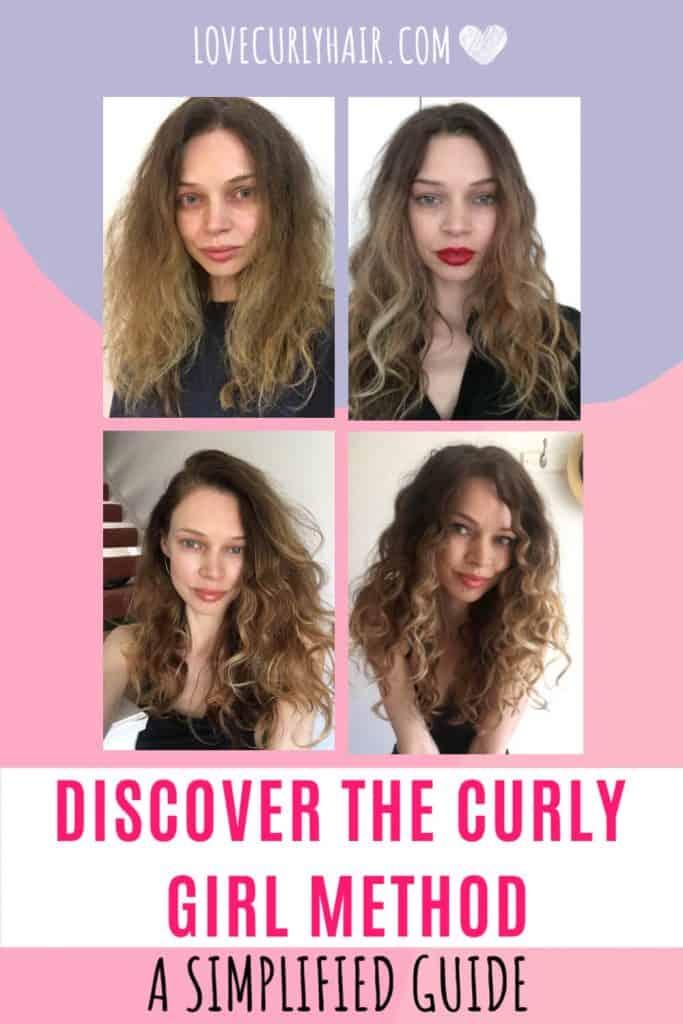 curly girl method simplified