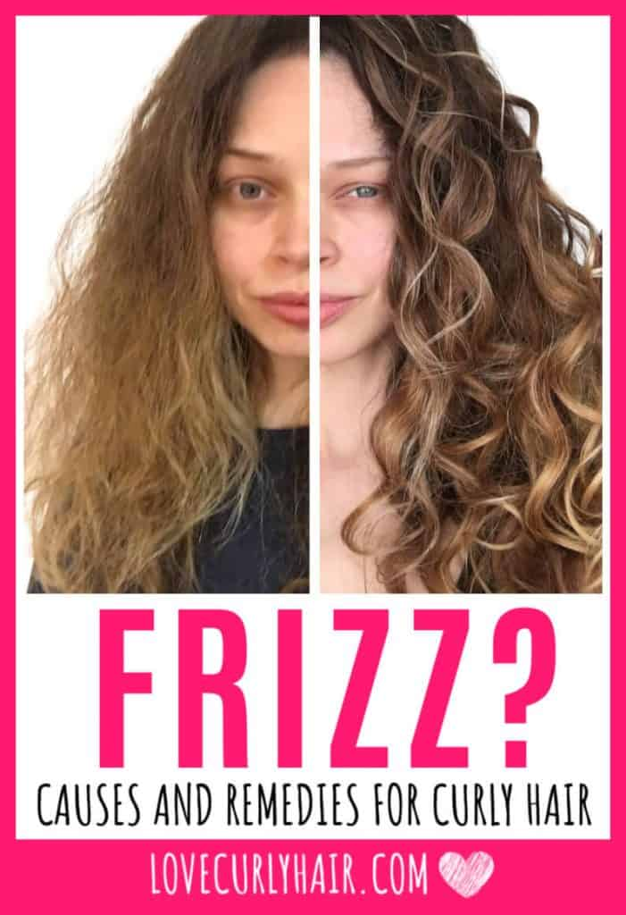what causes frizzy hair?