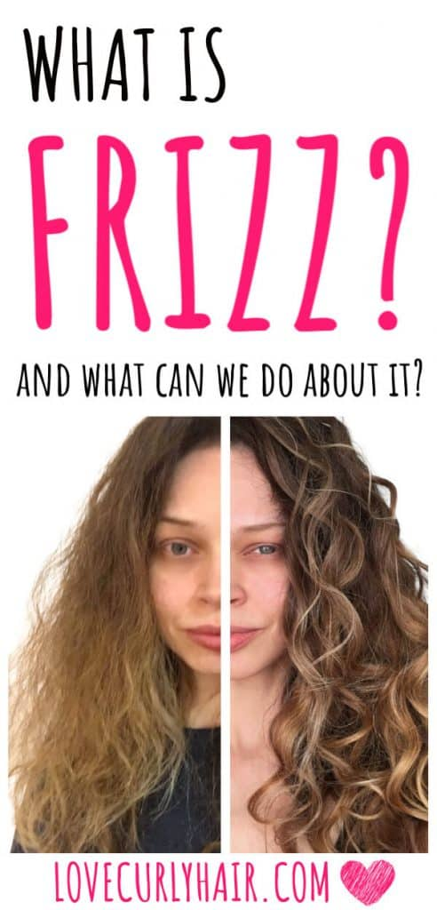 why is curly hair frizzy?