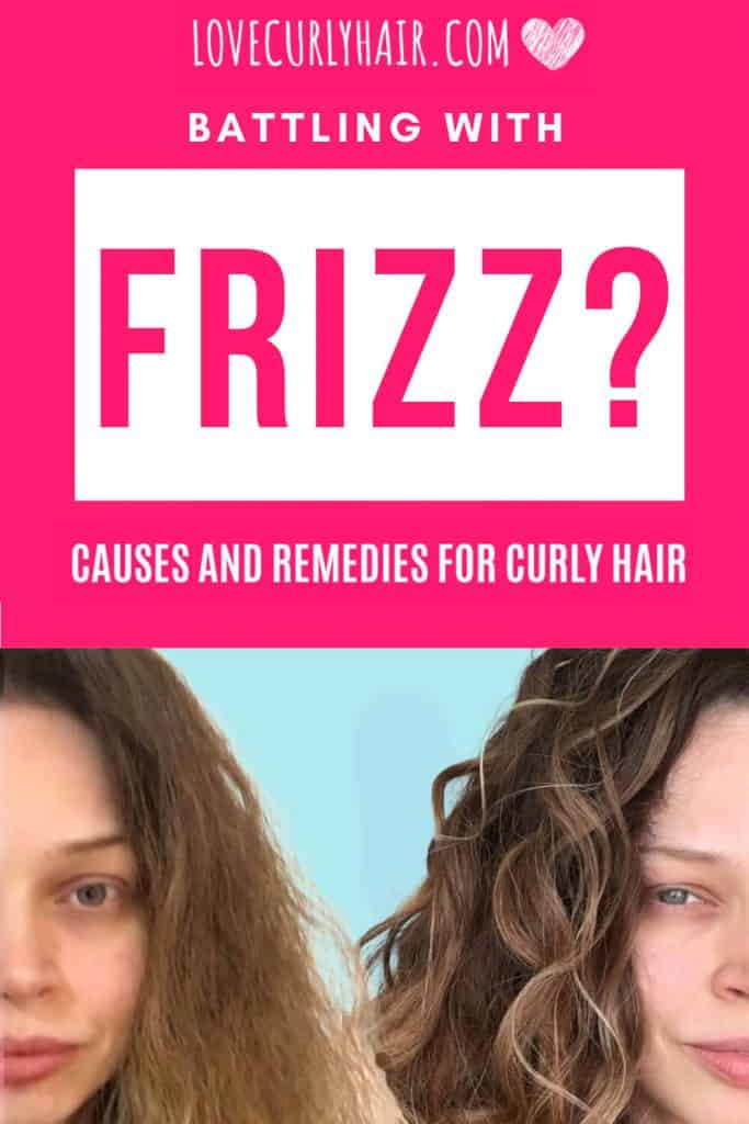 what causes frizzy curly hair?