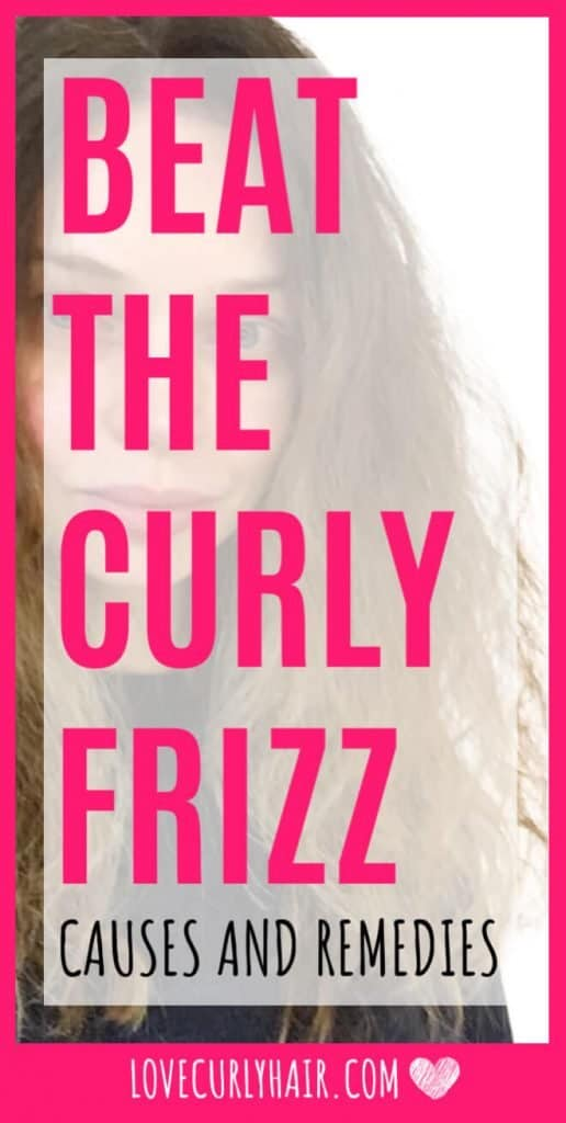 frizzy curly hair solutions