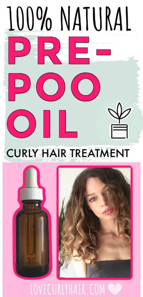 100% natural curly hair treatment