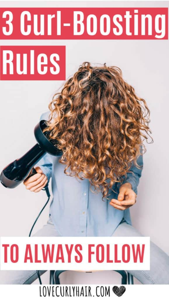 3 curly hair rules to always follow