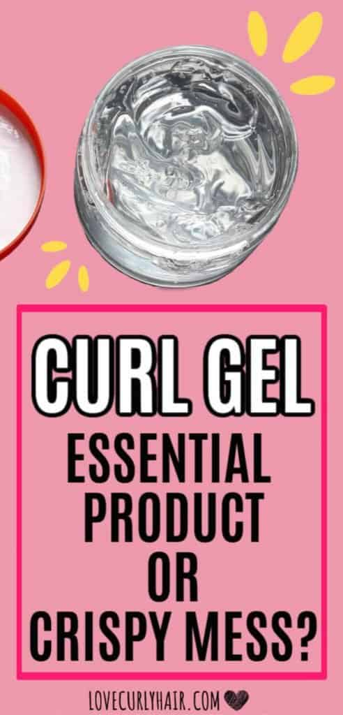 how to use gel to create soft curls