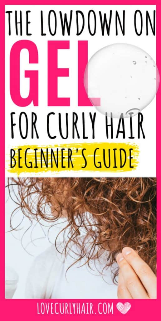 ultimate guide to styling curly hair with gel