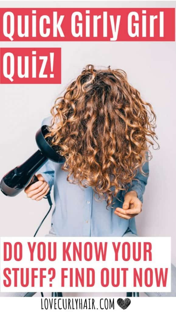 try the curly girl quiz