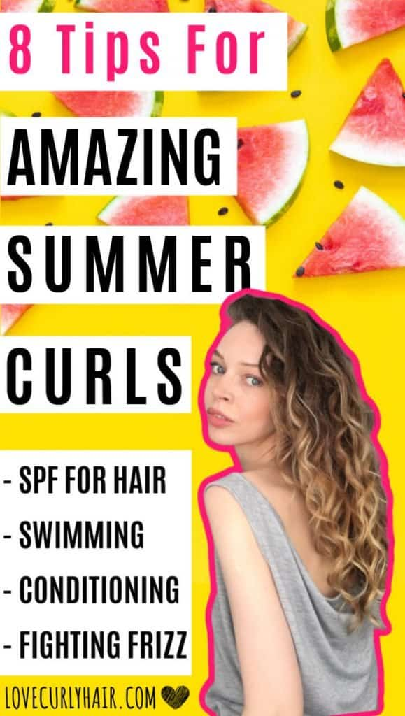 8 tips for your best curly hair this summer