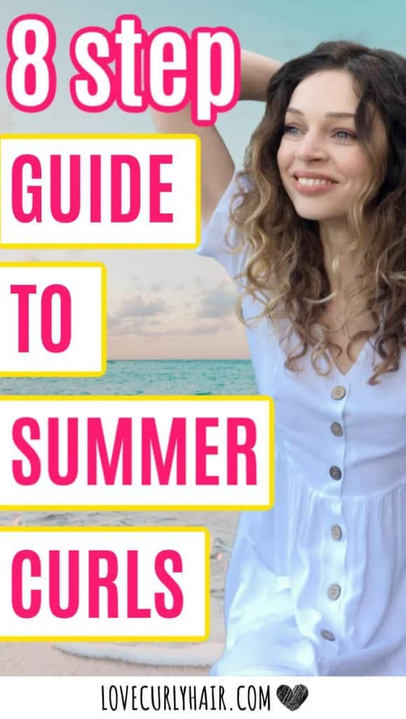 curly hair summer care tips