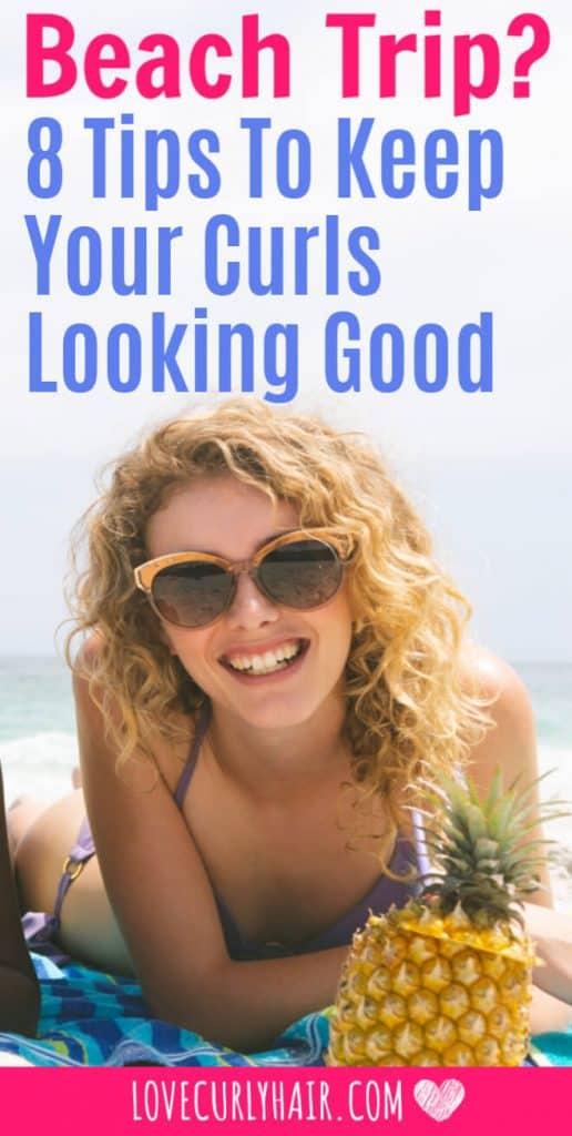 summer curly hair tips