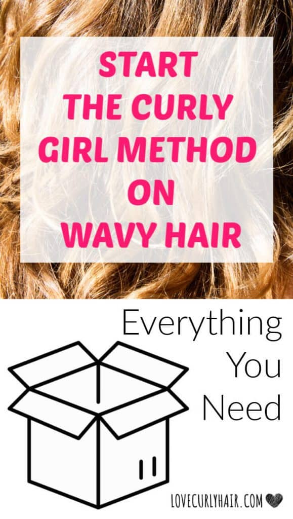 how to start the curly girl method on wavy hair