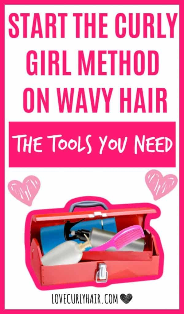 the curly girl method for wavy hair