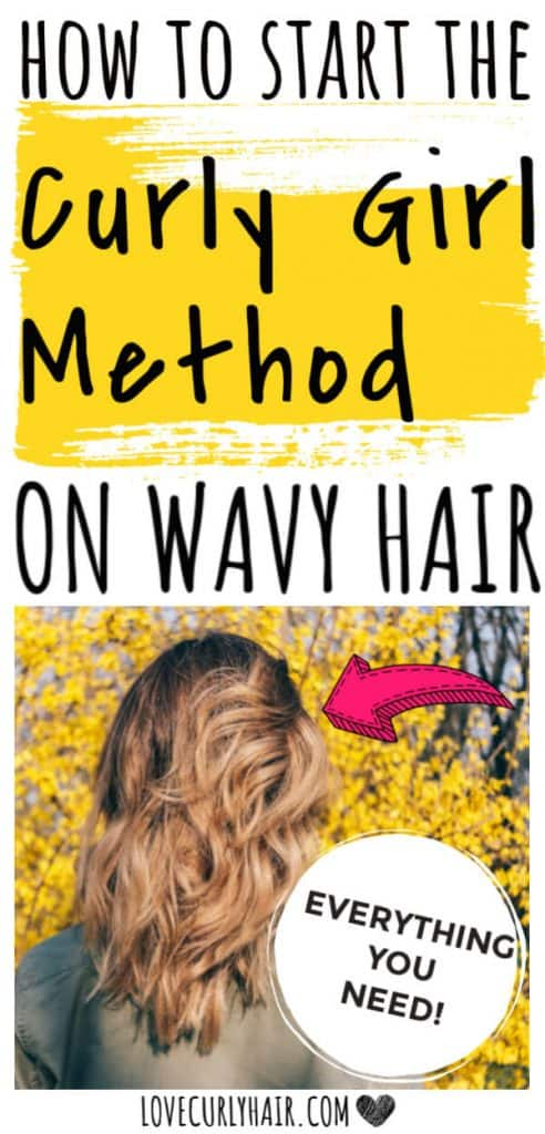 wavy hair and the curly girl method a guide