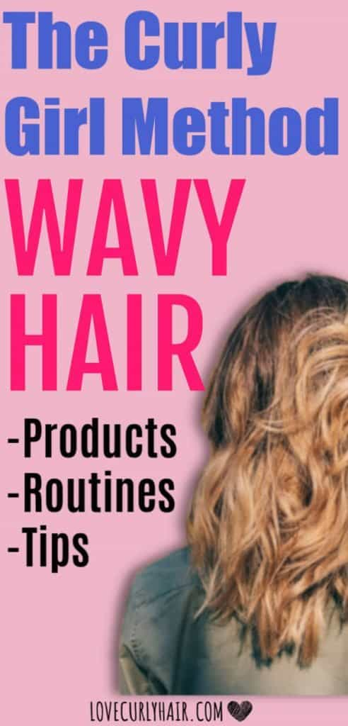 wavy hair and the curly girl method does it work