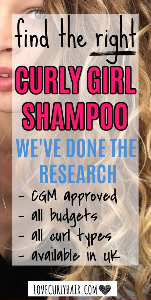 curly girl method shampoo to try