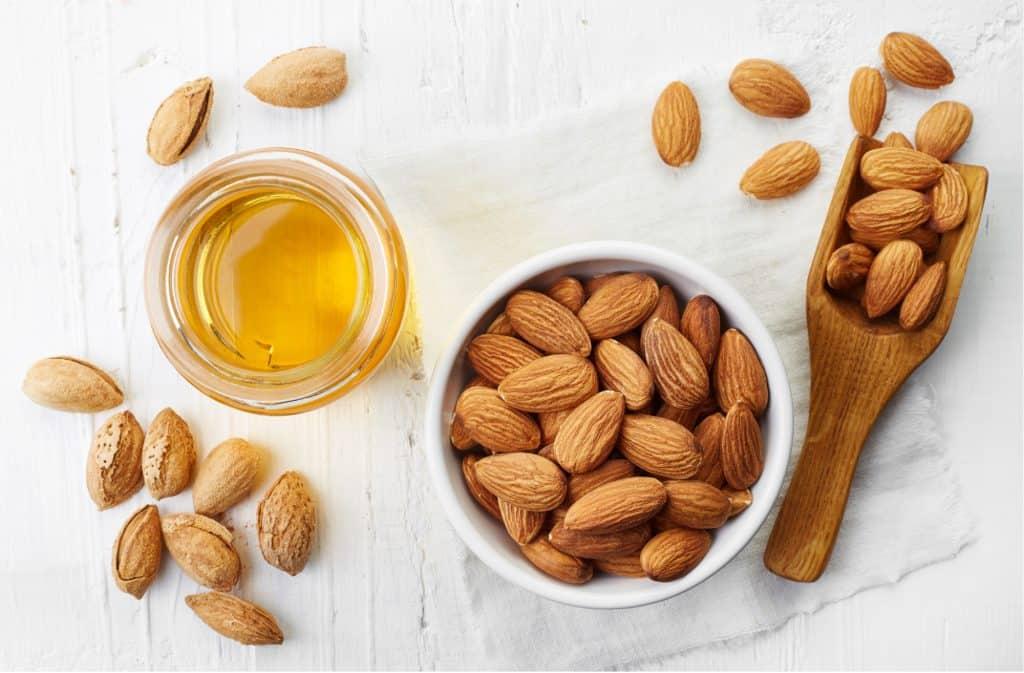 almond oil vegan keratin alternative