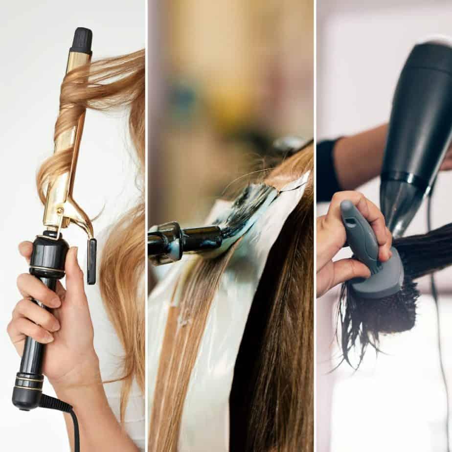 environmental stress on curly hair