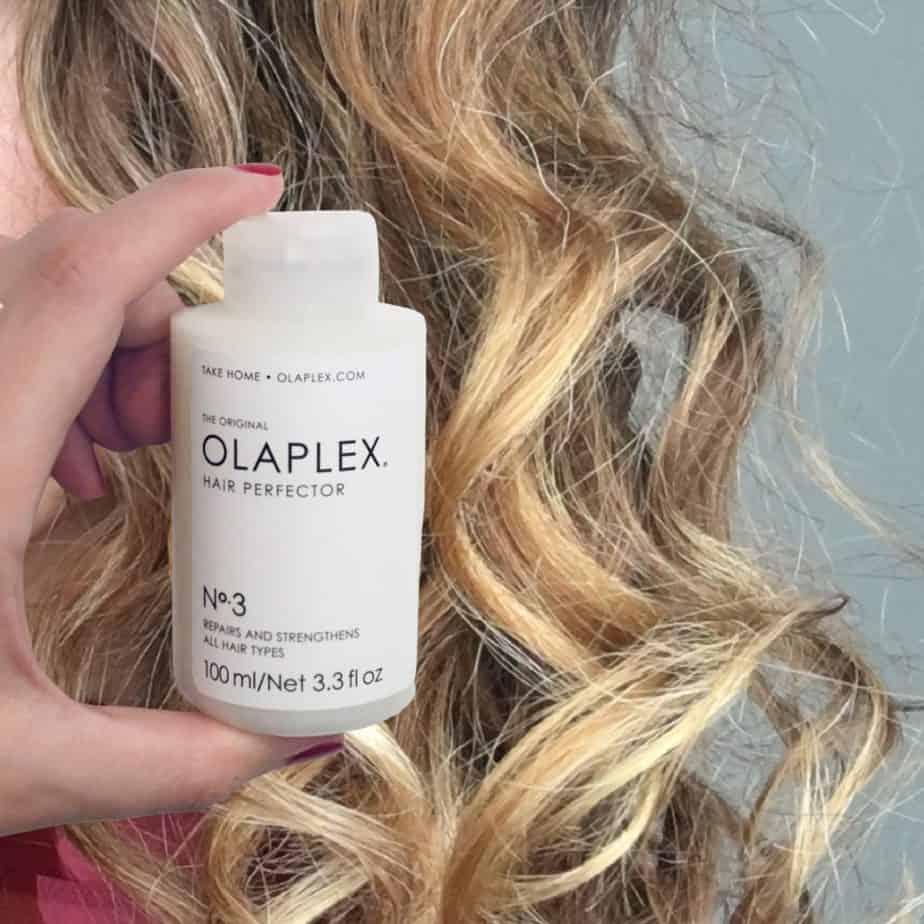 olaplex on curly hair