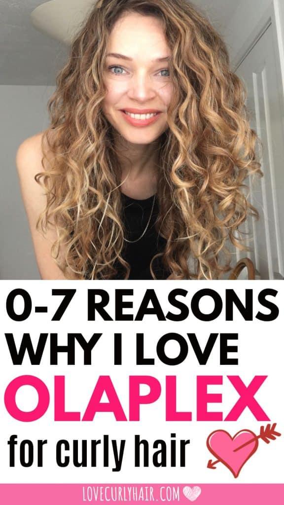 how to use olaplex treatment on curly hair