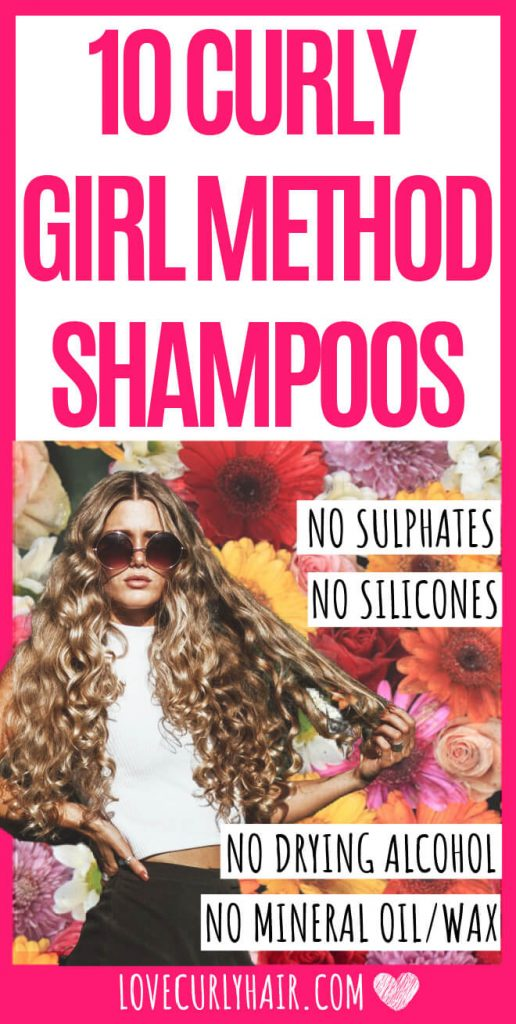 curly girl method shampoo