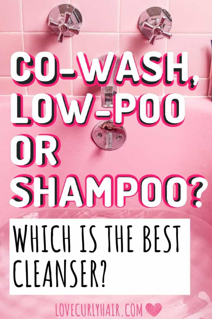 sulfate free and co washing best products