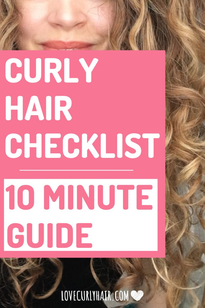 curly hair routine for beginners