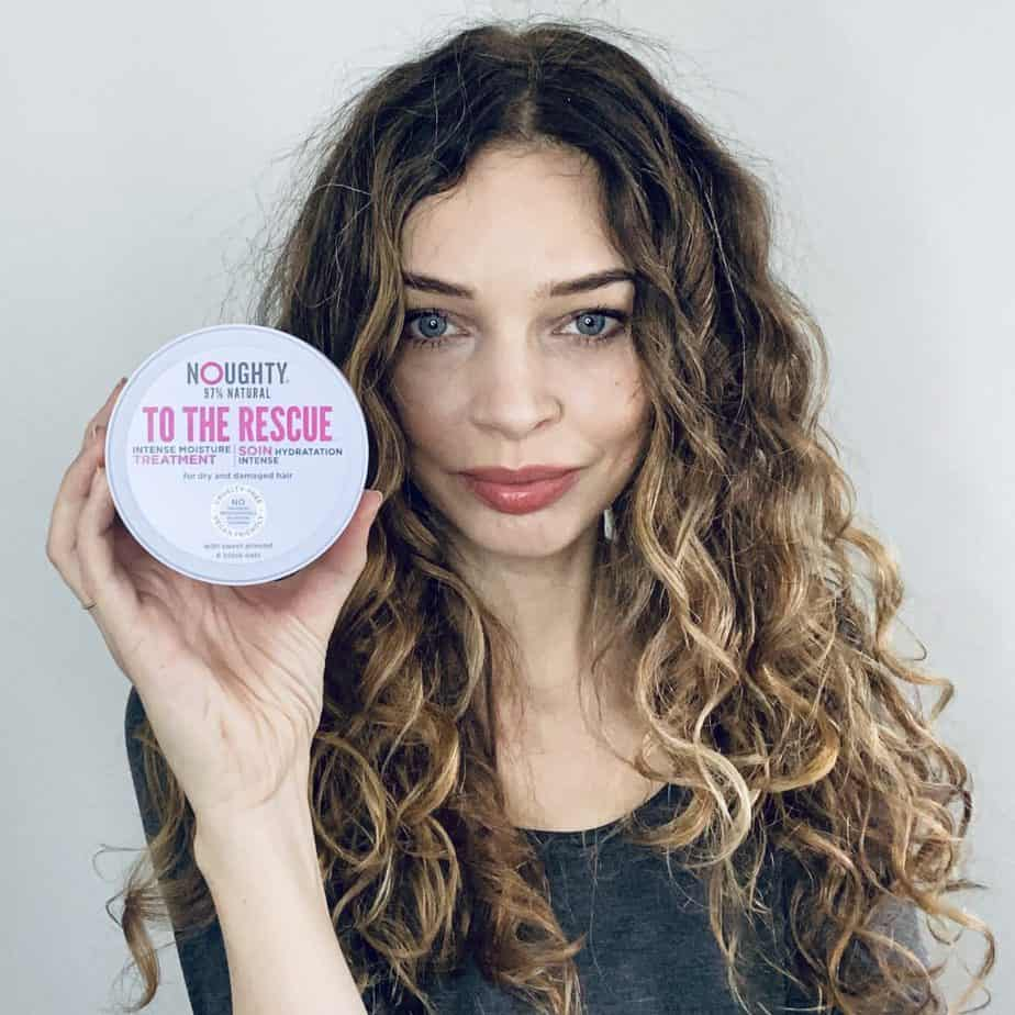 winter curl care routine deep condition