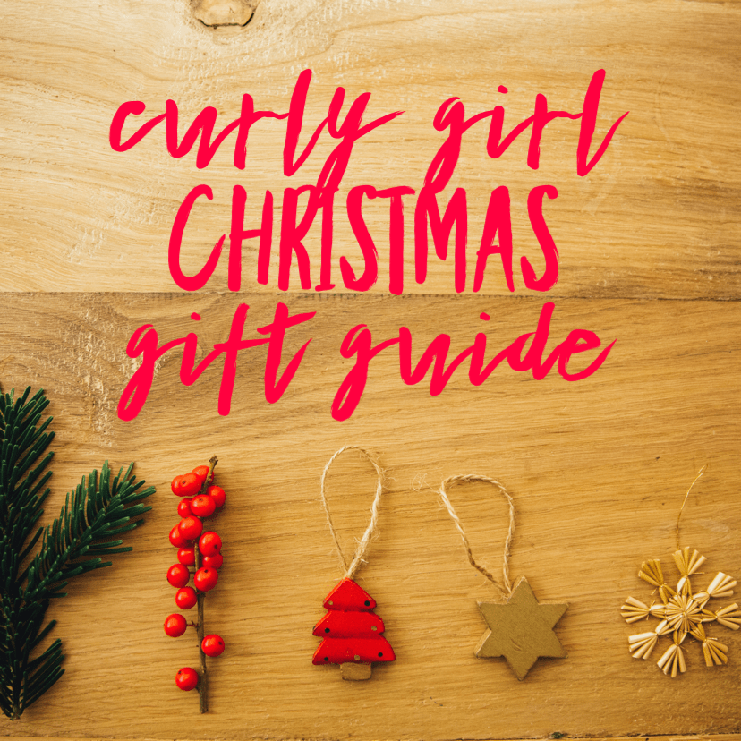curly girl christmas gift ideas