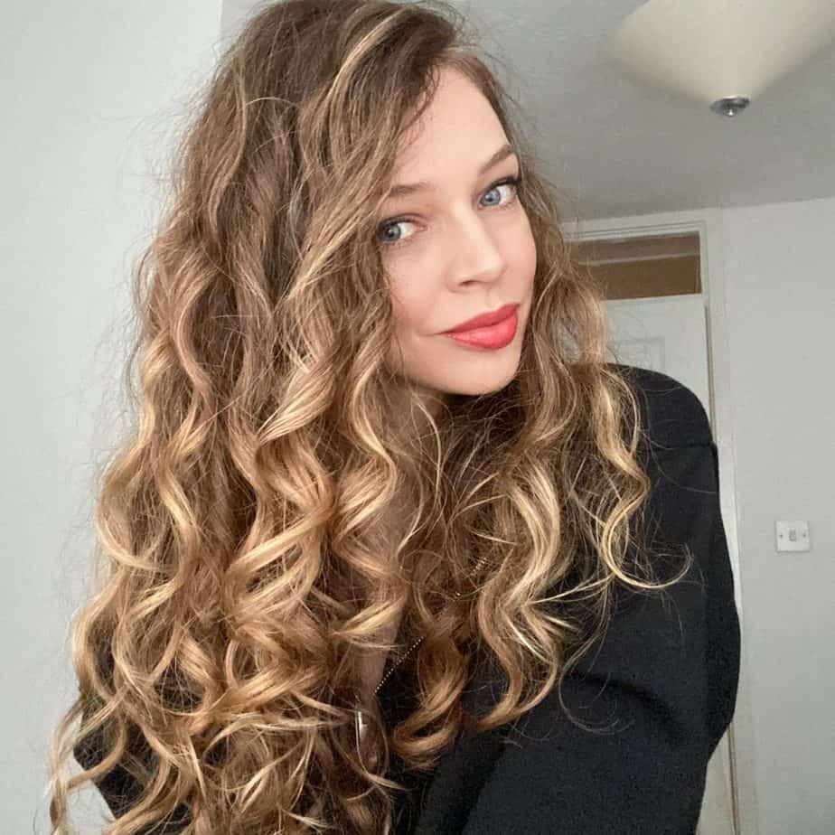 curly hair avoiding straight hair habits