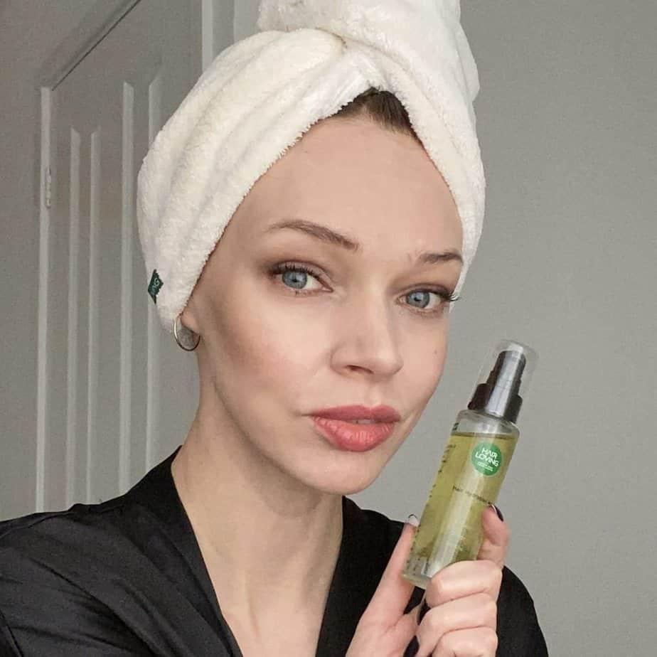 hair loving oil pre-shampoo treatment